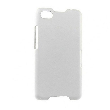 Zanko Cell Phone Fitted Case for BlackBerry Z30, White (ZKH-BBZ30-WH)