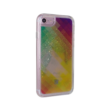 Caseco Glitter Cell Phone Fitted Case for Apple iPhone 6S/7, Diamond Rainbow (WXLG-iP7-RBW)