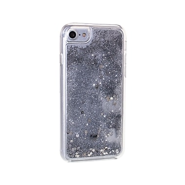 Caseco Glitter Cell Phone Fitted Case for Apple iPhone 6S/7, Silver Sparkles (WXLG-iP7-SSP)