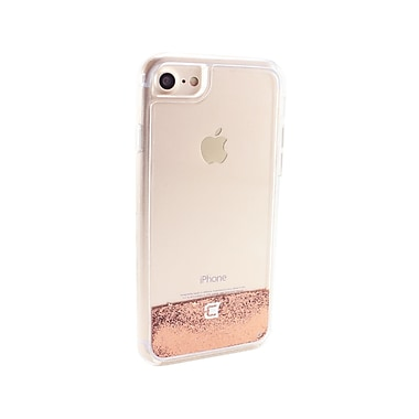 Caseco Glitter Cell Phone Fitted Case for Apple iPhone 6S/7, Stars in Gold (WXLG-iP7-SGD)