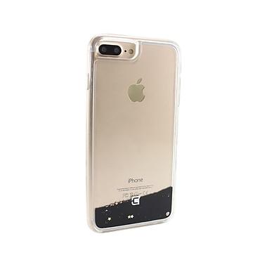 Caseco - Étui ajusté Glitter pour téléphone cellulaire Apple iPhone 6S/7 Plus, Stars in Black (WXLG-iP7P-SRB)