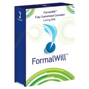 FormalWill™ Fully Customized Canadian Living Will