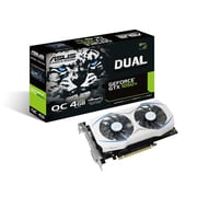 ASUS GeForce® GTX1050Ti 4GB Dual-Fan Edition Graphics Card (DUAL-GTX1050TI-O4G)