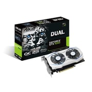 ASUS GeForce® GTX1050 2GB Dual-Fan Edition Graphics Card (DUAL-GTX1050-O2G)