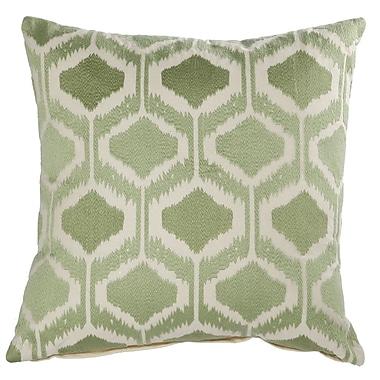 Latitude Run Claudine Embroidered Throw Pillow
