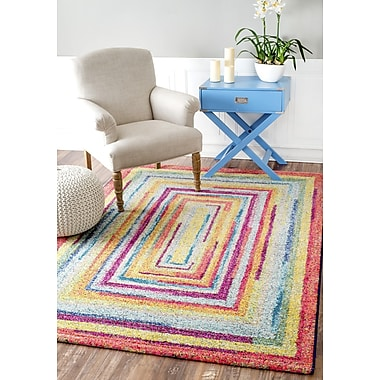 Latitude Run Horace Labyrinth Indoor Area Rug; 8' x 10'