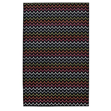 Latitude Run Rhoda Dyllan Red Area Rug; 5' x 8'