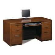 Latitude Run Witchel Executive Desk; Tuscany Brown