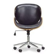 Latitude Run Aldana Desk Chair; Black