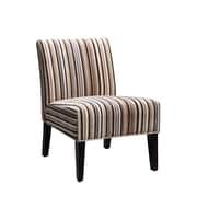 Latitude Run Boon Chair; Classic Muli Colored Stripe