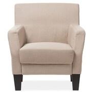 Latitude Run Calla Silhouettes Club Chair; Beige