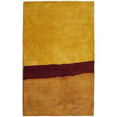 Latitude Run Vicente Hand-Tufted Yellow Area Rug; 5' x 8'
