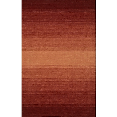 Latitude Run Louisa Paprika Area Rug; 7'9'' x 9'9''