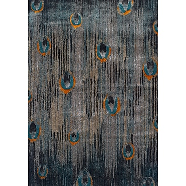Latitude Run Allegra Gray Area Rug; 9'6'' x 13'2''