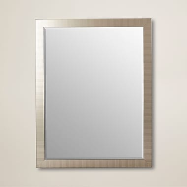 Latitude Run Framed Wall Mirror; 36'' H x 18'' W