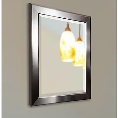 Latitude Run Rectangle Wall Mirror; 37'' H x 31'' W x 0.75'' D