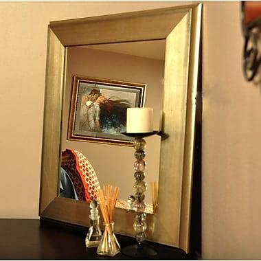 Latitude Run Wall Mirror; 32'' H x 28'' W x 1.75'' D