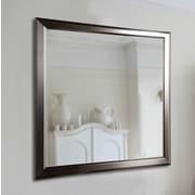 Latitude Run Wall Mirror; 31'' H x 25'' W x 0.75'' D