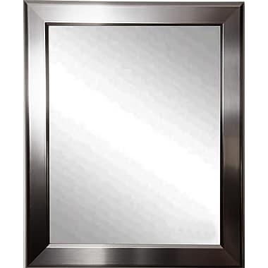 Latitude Run Wall Mirror; 44'' H x 38'' W x 0.75'' D