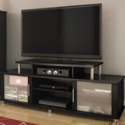 Latitude Run City Life 59'' TV Stand; Pure Black