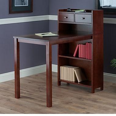 Latitude Run Mayra Storage Shelf Computer Desk