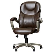 Latitude Run Annabelle Executive Chair; Mocha Brown