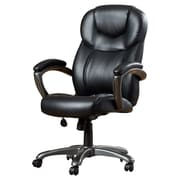 Latitude Run Annabelle Executive Chair; Black