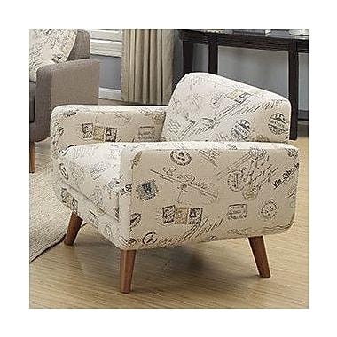 Latitude Run Print Arm Chair