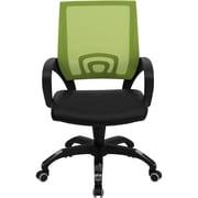 Latitude Run Brenna Desk Chair; Green