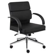Latitude Run Margaret Desk Chair; Black