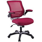 Latitude Run Bonnie Mesh Desk Chair; Burgundy