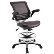 Latitude Run Bonnie Mesh Drafting Chair; Brown