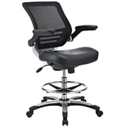 Latitude Run Bonnie Mesh Drafting Chair; Black