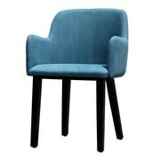 Latitude Run Cameron Arm Chair; Blue