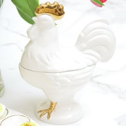 8 Oak Lane Large Rooster Candy Dish