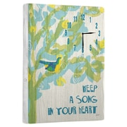 Artehouse LLC Keep a Song Wall Clock