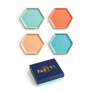 Rosanna Let's Party Coaster (Set of 4)