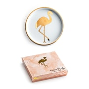Rosanna Patio Party Flamingo Wine Coaster