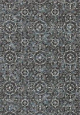 Dynamic Rugs Regal Silver/Blue Area Rug; 6'7'' x 9'6''