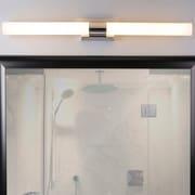 Linea di Liara Perpetua 42'' 2-Light LED Bath Bar; Polished Chrome