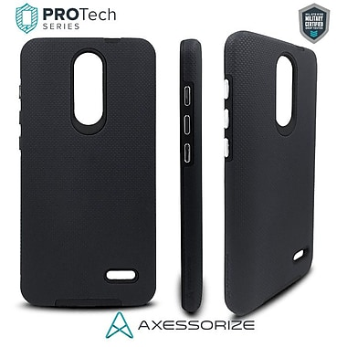 Axessorize PROTech Cell Phone Fitted Case for ZTE Grand X 4, Black (680813001076)