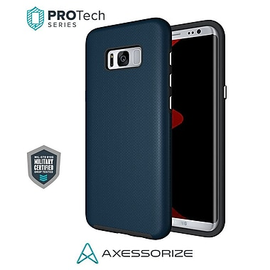 Axessorize PROTech Cell Phone Fitted Case for Samsung Galaxy S8, Cobalt Blue (SAMR2301)
