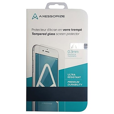 Axessorize Tempered Glass Cell Phone Screen Protector for LG Stylo 3 Plus (TEMPSF6)