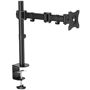 StarTech® Desk-Mount Monitor Arm, Articulating, Heavy Duty Steel (ARMPIVOTB)