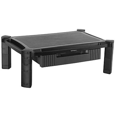 StarTech - Soulève-moniteur avec tiroir, ajustable en hauteur, grand, (MONSTADJDL)