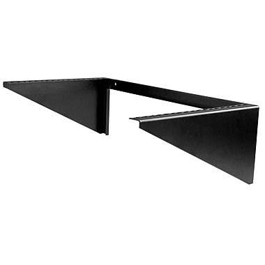 StarTech.com Vertical Wall-Mount Server Rack, Solid Steel, 6U (RK619WALLV)