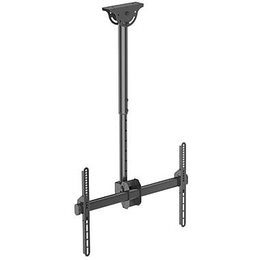 StarTech® Flat-Screen TV Ceiling Mount, Short Pole, Full Motion (FPCEILPTBSP)