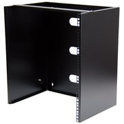 StarTech.com Wall-Mount Bracket for Shallow Rack-Mount Equipment, Solid Steel