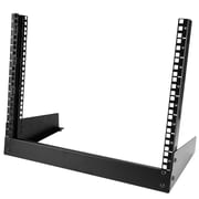 StarTech® 8U Desktop Rack, 2-Post Open Frame Rack (RK8OD)
