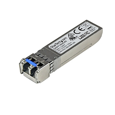 StarTech - Émetteur-récepteur SFP+ à fibre opt. 10 Gb, pour Juniper EX-SFP-10GE-LR, monomode LC 10 km (EXSFP10GELRS)